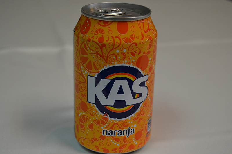 Refresco de naranja